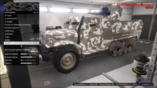Halbkettenfahrzeug Vorstellung vom GTA 5 Online GUNRUNNING DLC UPDATE