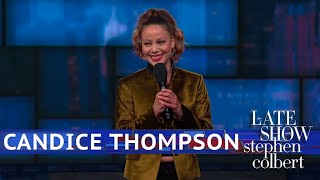 Candice Thompson Performs Stand-Up