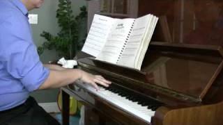 Nửa hồn thương đau. Piano solo.