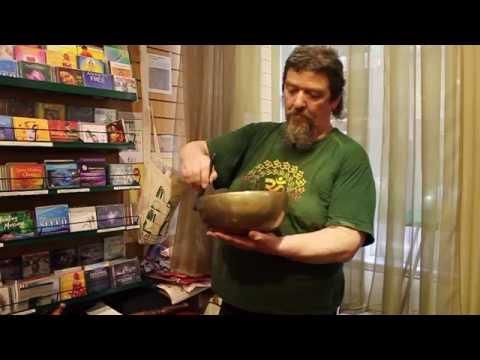 Frank Perry on Tibetan Singing Bowls