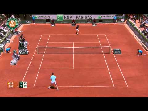 Roland Garros 2014 Friday2 Highlights Djokovic Gulbis