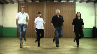 Bound for South Australia (Irish dance: demo & tutorial)