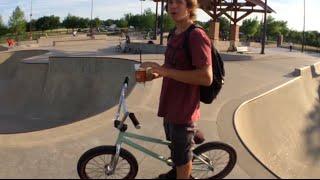 BMX Webisode: Allen Skatepark - Dogs & Bikes :)✔️