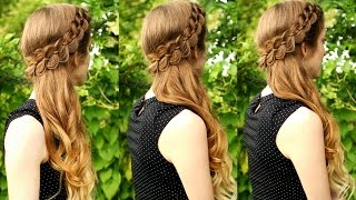 Beautiful Side Swept Braided Style | Cascading Hairstyles | Braidsandstyles12