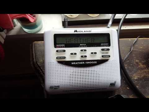 Special Marine Warning - NOAA Weather Radio 7/15/16 Massachusetts