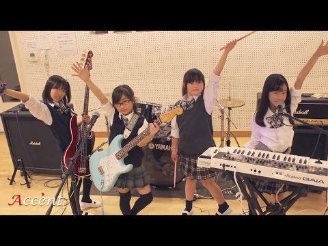 【アクセント】SILENT SIREN『女子校戦争』バンド演奏に挑戦!