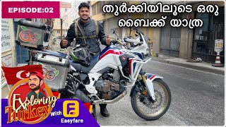 (EP:02) exploring turkey with This bike