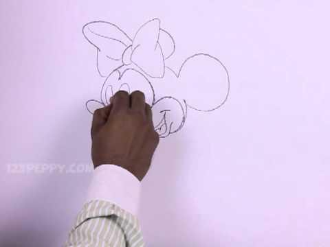 minnie mouse zeichnen # 22