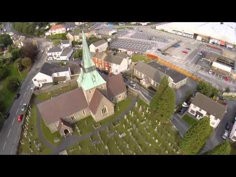 Swiss Valley Resevoir & Felinfoel Church By Hidden Carmarthenshire