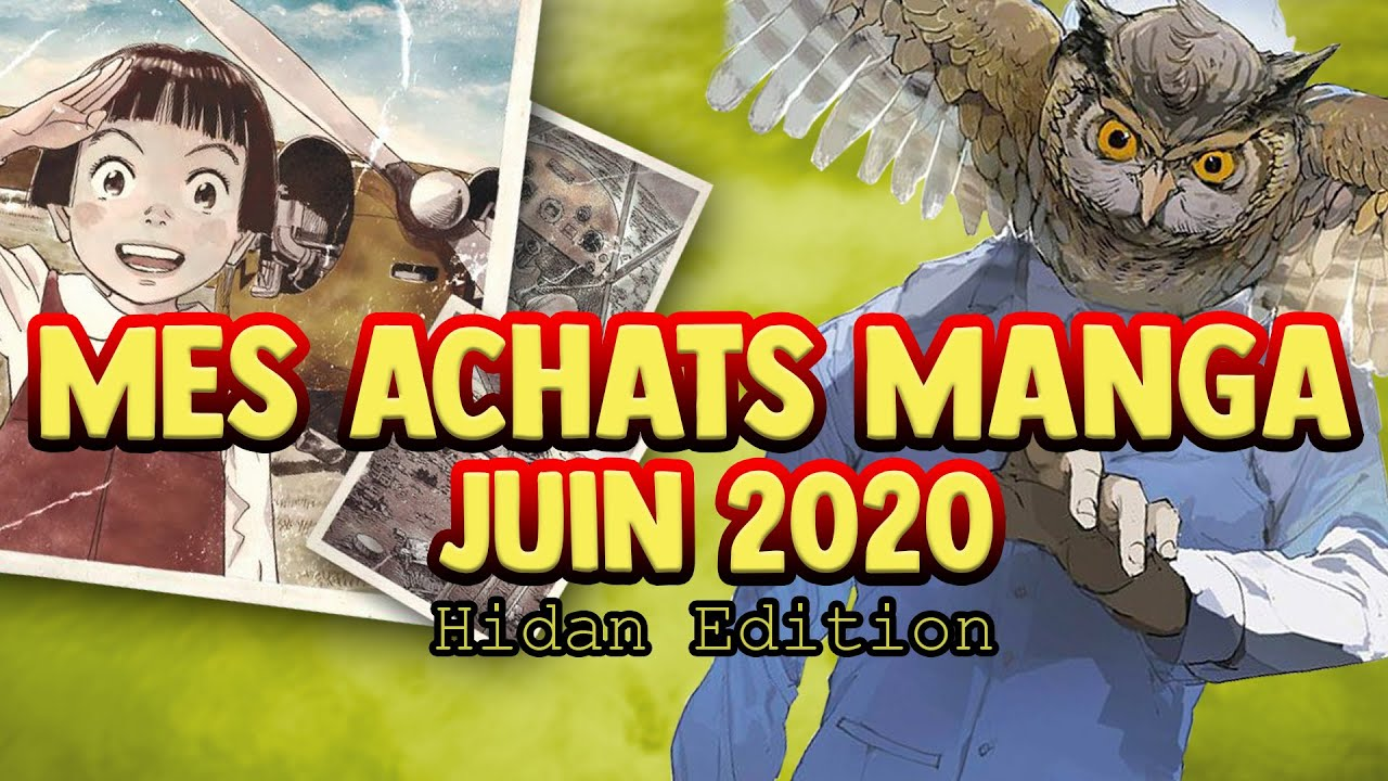 ACHAT MANGA ( PLUS DE 200€ ! ) | HIDAN ÉDITION | MANGA CORP