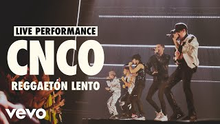 CNCO - Reggaetón Lento (Live) | Vevo LIFT Live Sessions