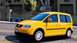 Volkswagen Caddy Test Drive Gta V