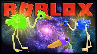 TRANSCENDING THE UNIVERSE WITH BUGADOS OSTRICHES!!! -ROBLOX Bird