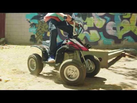 Razor Dirt Quad Electric ATV Ride Video