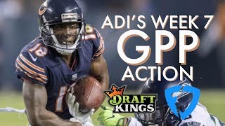 Adi's Action - NFL Week 7 GPP plays for DraftKings and FanDuel