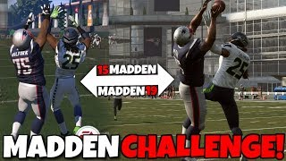 Attempting to Recreate My First Ever Madden Challenge!! Madden 19 Challenge