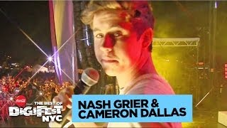 Nash Grier & Cameron Dallas | DigiFest NYC Presented by Coca-Cola