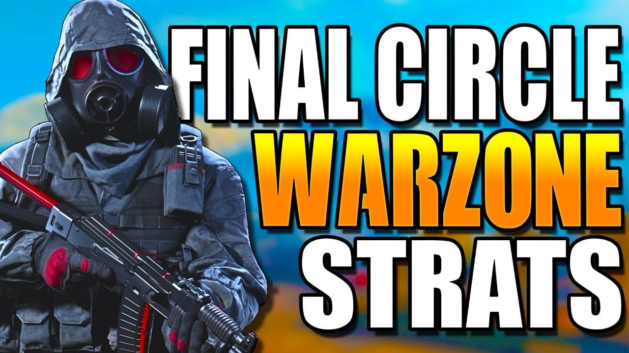 WARZONE FINAL CIRCLE TACTICS! Get BETTER at WARZONE! Warzone Tips! (Warzone Training)
