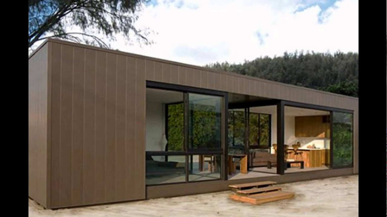 prefab homes design YouTube