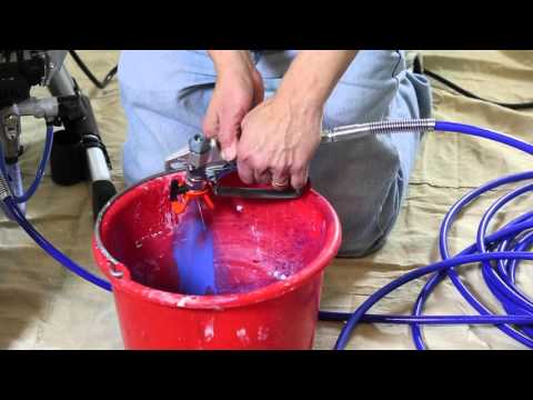 How To Clear a Tip Clog When Using a Graco Magnum Sprayer