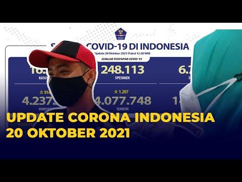 Update Corona 20 Oktober 2021: Pasien Sembuh dari Covid-19 Bertambah 1.207 Orang thumbnail