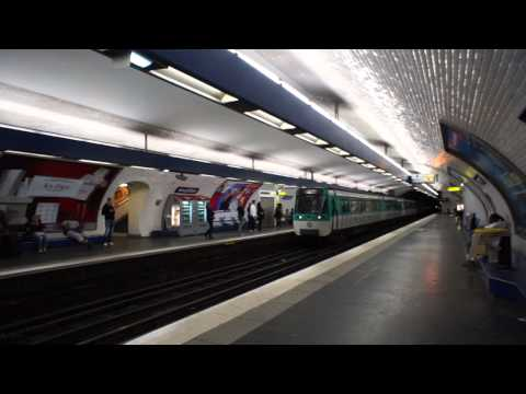 Inside Paris Metro Station - What it Looks Like