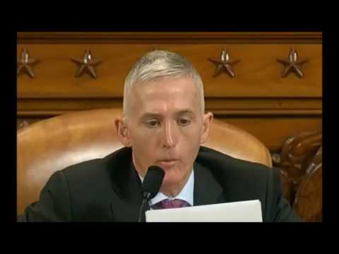 Trey Gowdy all rounds of questioning for FBI director James Comey