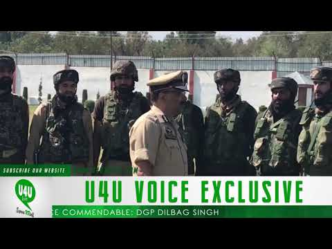 DGP visits South Kashmir districts Collective efforts of all forces.