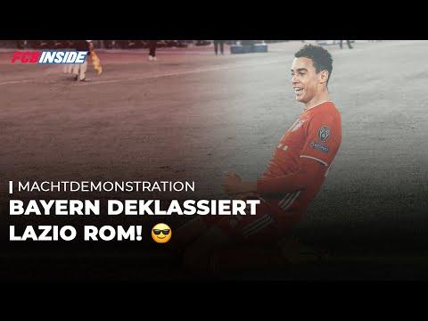 Machtdemonstration in der CL! Bayern deklassiert Lazio Rom | FC Bayern News