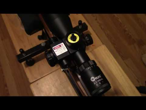 Rifle scope CVLife 2.5-10x40e review
