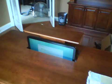 Custom Computer Desk Youtube