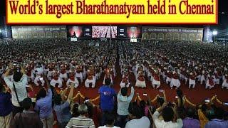 World's largest Bharathanatyam held in Chennai |Bharadham 5000 | Chennai Express Tv
