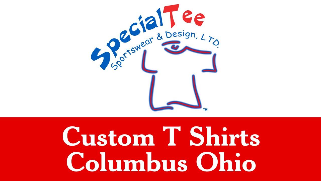 Custom T Shirts Columbus Ohio 614 877 0976 Specialtee Sportswear