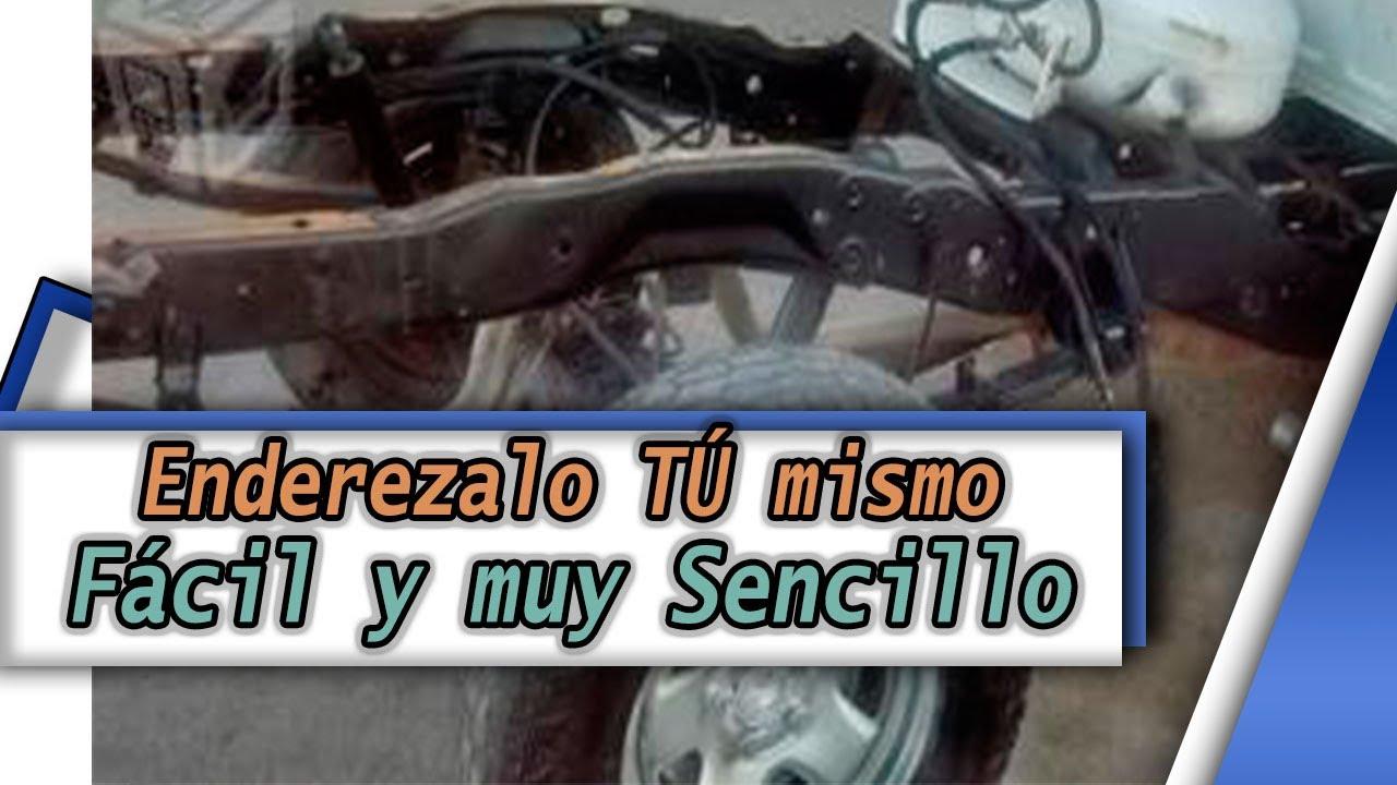 Como enderezar tu auto, Latoneria, laminado (chasis) - YouTube