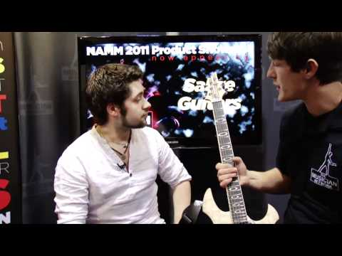 NAMM 2011 Product Showcase: Sabre Guitars
