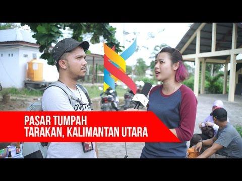 Kaltara TV   Pasar Tumpah Tarakan Kalimantan Utara Part II