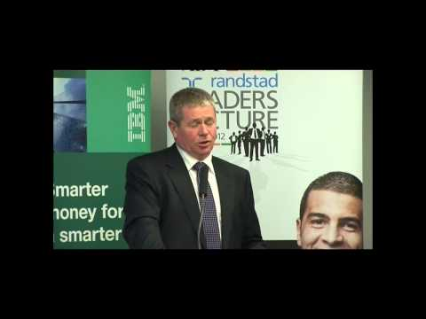 AB+F Randstad Leaders Lecture Series - Mike Hirst, MD, Bendigo & Adelaide Bank