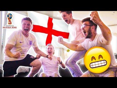 REACTING TO ENGLAND VS CROATIA WORLD CUP SEMI FINAL