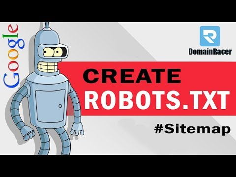 """Create Robots.txt File & Sitemap.xml"" #With Example 