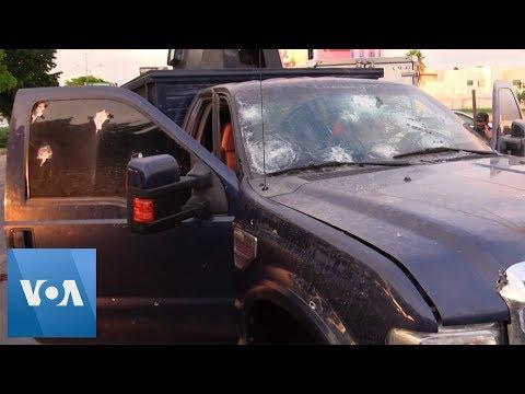 Fierce Gun Battles Erupt In Mexico's Sinaloa State