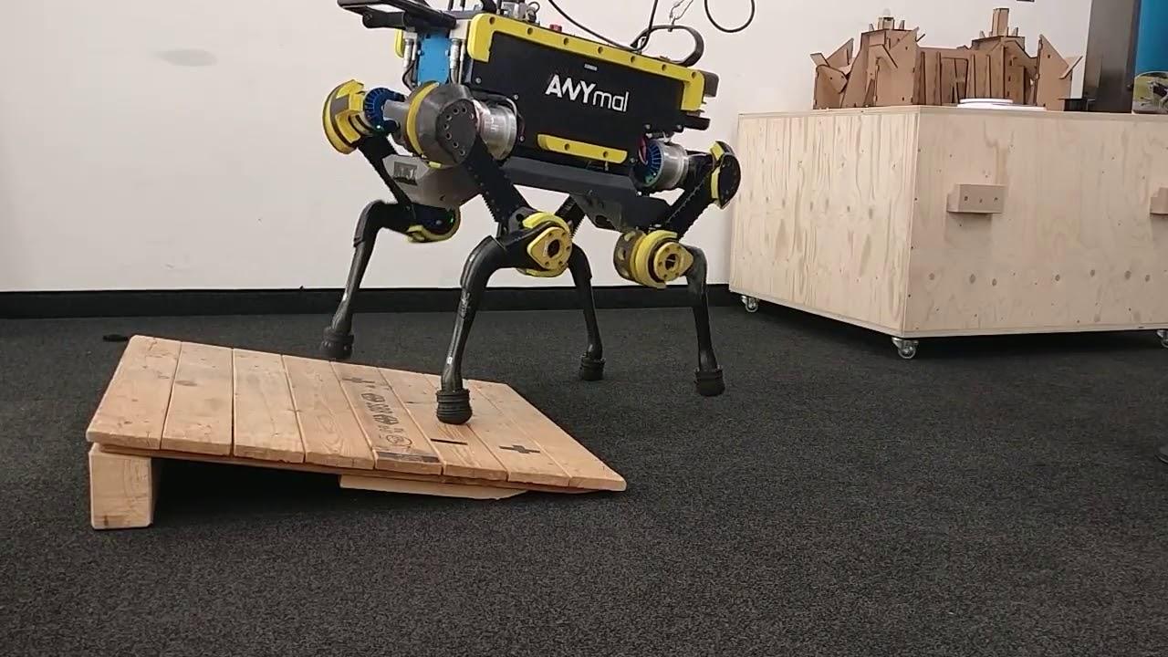 6 - Axis Force Torque Sensor on ANYmal Robot | Bota Systems