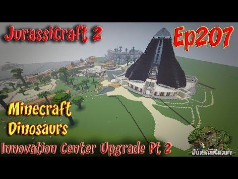 JurassiCraft 2 Jurassic World Ep207 Isla Nublar Innovation Center Upgrade Pt2