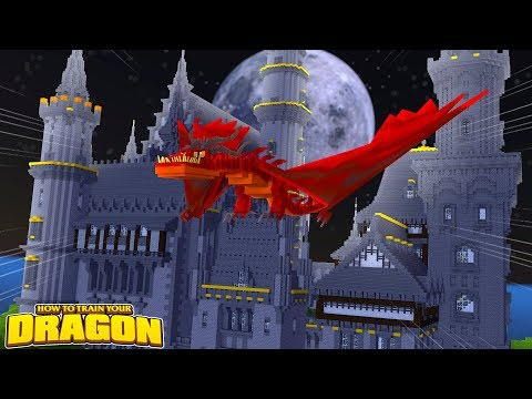 EVIL WILD DRAGON TAKES OVER A CASTLE AND WE GET NEW EGGS! How To Train Your Dragon w/TinyTurtle