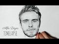 Speed Drawing Alfie Deyes (PointlessBlog)