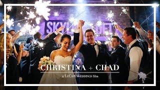 Christina + Chad: Wedding Feature FIlm @ Skyline Loft Chicago, IL