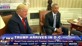 FULL VIDEO: President-Elect Donald Trump Meets With President Obama at White House - FNN