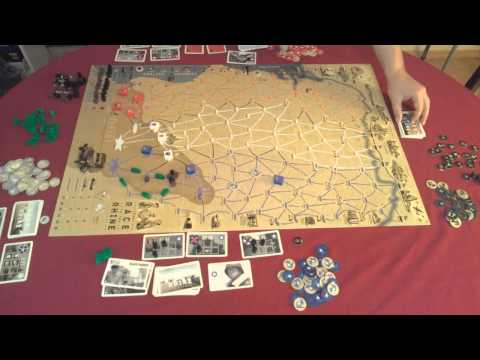Настолна игра 1944:Race to the Rhine - Как се играе