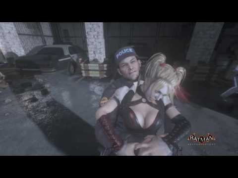 Harley Quinn sexy moments and Zoom in ins Batman Arkham Knight.