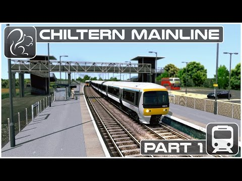 Chiltern Mainline - Part #1 (Train Simulator 2017)