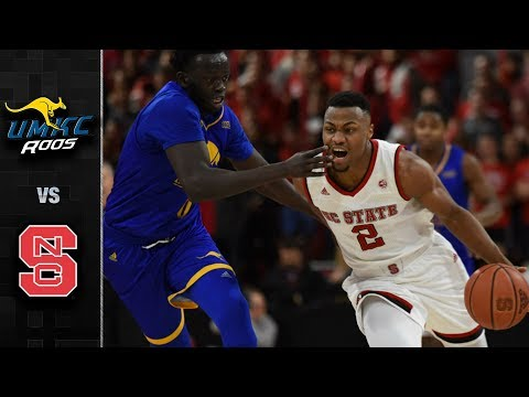 UMKC vs. NC State Basketball Highlights (2017-18)